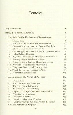 NEW Ancient Roman Families Praetorian Inheritance Augustan Marriage Emancipation 3