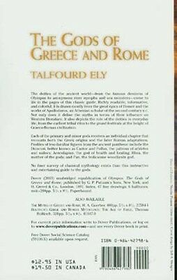 Gods Myths Ancient Greece Rome Olympus Tribal Rites Festivals Apollodoros Homer 2