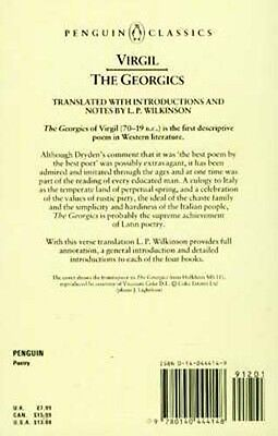 NEW Virgil Georgics Rural Daily Life Farming Ancient Italy Augustus-Era Rome 3 • CAD $25.15