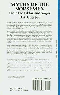 Myths Legends Ancient Medieval Norsemen Viking Sagas Eddas Odin Valkyrs Valhalla 2