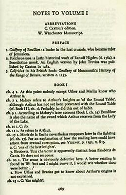Le Morte D'Arthur  Written 1485AD Camelot King Arthur Lancelot Guinevere Knights 3