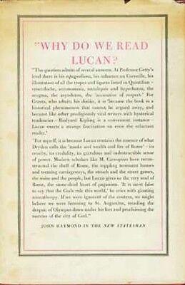 Ancient Rome Civil War Lucan Pharsalia Julius Caesar Pompey RARE OOP 1957 H/C 2