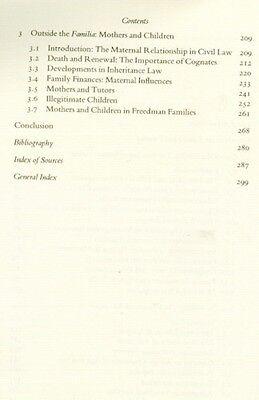 NEW Ancient Roman Families Praetorian Inheritance Augustan Marriage Emancipation 4