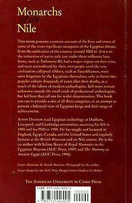 Monarchs of the Nile Pharaohs 3000-300 B.C. Tuthmosis Geneology Royal Cemeteries 2