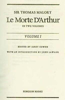 Le Morte D'Arthur  Written 1485AD Camelot King Arthur Lancelot Guinevere Knights 2