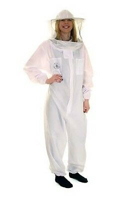 BUZZ BASIC Beekeepers Bee Suit with Round Veil and Gloves ALL SIZES 3