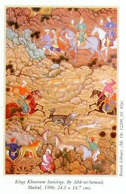 Indian Miniature Painting Color Rajasthani Mughal Deccani Pahari Manuscripts Pix 6 • CAD $44.45