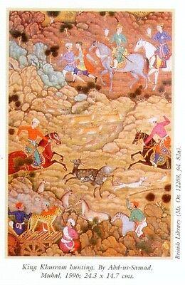 Indian Miniature Painting Color Rajasthani Mughal Deccani Pahari Manuscripts Pix 6