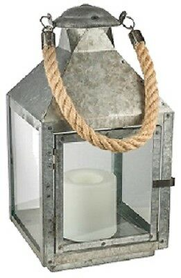 Good ... 2 Ea Northern GL28672LGV Galvanized Metal Battery Operated Patio Candle  Lantern
