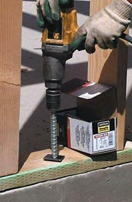 (40 Count) Simpson Strong-Tie THDB62400H -5/8 x 4 Titen Head Mechanical Anchor 2