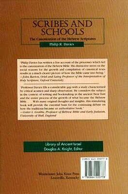 Origins Ancient Hebrew Scriptures Canons Scribes Schools Libraries Old Testament 2