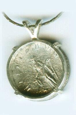 AD243 Silver Roman Denarius Teen Emperor Gordian + Joy Gladness Goddess Laetitia 3