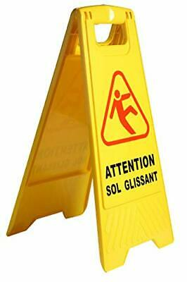 "Attention Surface Glissante  Danger PANNEAU"" ATTENTION SOLS GLISSANT "" 2"