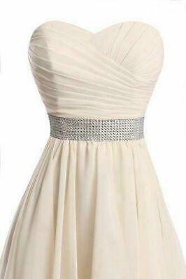 Plus Size 2-26 High Low Bridesmaid Dresses Homecoming Formal Prom Party Gown 128