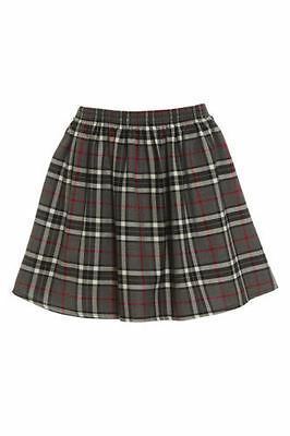f0a3b69e705 ... New Womens Red Ladies Check Tartan Skater Mini Skirt Elasticated Waist  Size 8-20 7