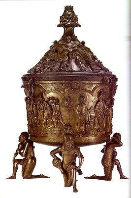 Hildesheim Cathedral Medieval Romanesque Treasure Manuscript Ringelheim Crucifix 9
