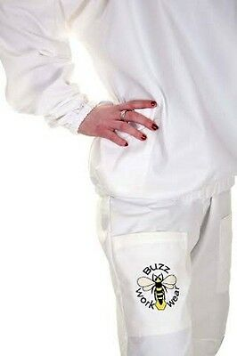 BUZZ Beekeepers Bee Tunic / Jacket with round veil and Trousers set   All sizes 4