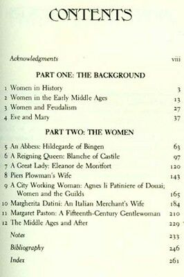 NEW RARE Medieval Womens Life 12-13thC English Flemish Ancient Illuminations Art 4