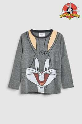 NEXT Bugs Bunny Top Disney Girls Age 6 Loony tunes BNWT Long sleeve 2