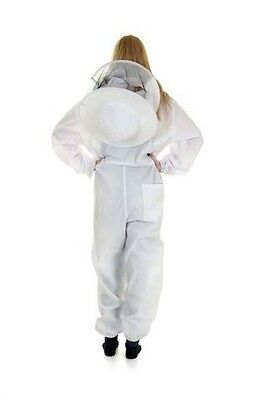 Buzz Work Wear Basic Cotton Beekeepers Bee Suit: Kids Large 4
