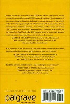 NEW Dead Sea Scrolls Christianity's Jewish Origin Essene Qumram Jesus Eyewitness 2