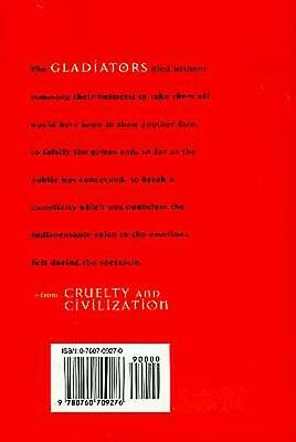 "NEW ""Cruelty & Civilization"" Roman Games Coliseum Gladiator Circus Chariot Races 2"