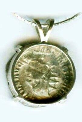 AD249 Silver Denarius (Coin) Roman Emperor Trajan Decius & Victory Goddess Nike 2