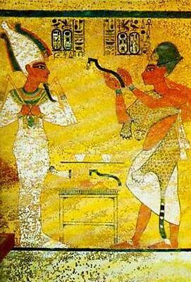 Tutankamun Golden Pharaoh Discovery Ancient History Akhenaten Nefertiti RoyalSex 2