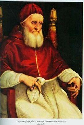 Michelangelo Sistine Chapel 16thC Renaissance Italy Pope Julius Royal Court HC