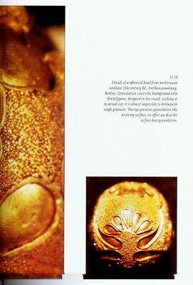 Etruscan Granulation Ancient Gold Jewelry Roman Italy Fibulae Daggers Earrings 6