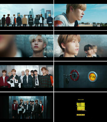 STRAY KIDS CLE 2:YELLOW WOOD Album NORMAL 2VerSET+POSTER+Book+Card+GIFT+PreOrder 6
