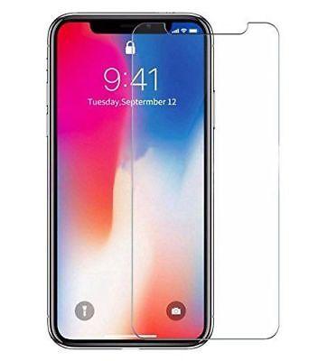 Film Protection Verre trempé écran+ Coque Pour iPhone X XS Max XR 8 7 6 S Plus 3