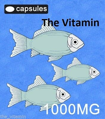 The Vitamin Omega 3 Fish Oil 1000mg 365 Capsules - Bagged 2