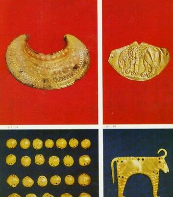 Ancient Thrace Scythia Treasures (Bulgaria) Jewelry Vases Swords Sculpture Masks