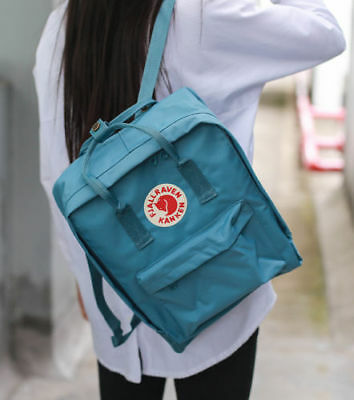 16 / 20L Unisex Fjallraven Kanken Shoulder Travel School bag Zaino causale IT 7