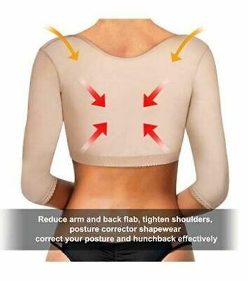 Faja De Compresion Para Mujer Talladora De Brazos y Corrector Postura Sujetador 3