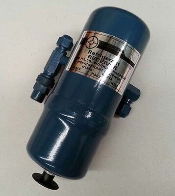 """Top quality Refrigerant Receiver 3/8"""" SAE FLARE CONNECTIONS 2"""