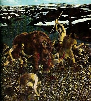 Time Life Emergence of Man Neanderthals Ice Age Cave Man Art Daily Life Society 3