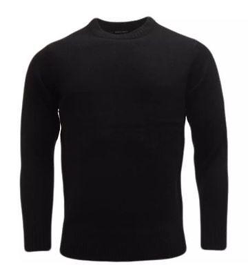 Mens Plain Colour Knitwear Sweater Jumper Pullover Crew Neck Long Sleeve TopBNWT 5