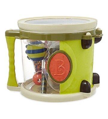 B Parum Pum Pum Toy Drum Set Musical Toys Bug Instruments NEW