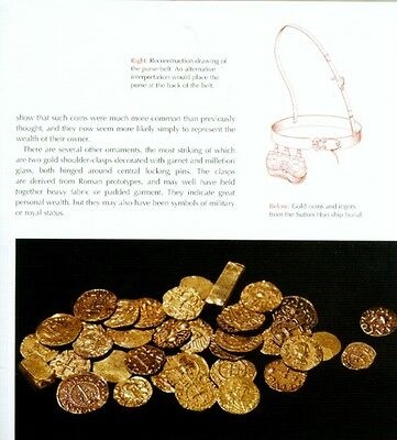 Sutton Hoo Treasures Anglo-Saxon Ship Burial Gold + Garnet Jewelry Sword Helmet 7