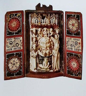 HUGE Medieval Sculpture Roman Renaissance Biblical Gothic Italy France Reliquary 3