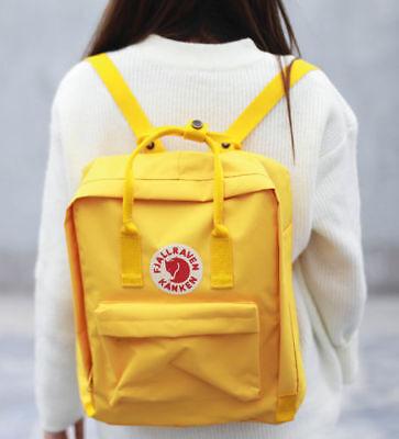 Unisex Fjallraven Kanken Backpack Travel spalla scuola borse Marca 7L/16L/20L 7