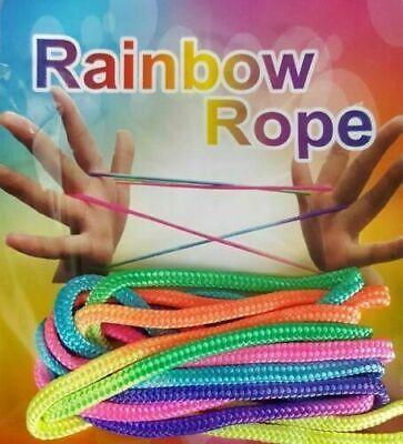 Rainbow Rope Jeu doigt Jeu corde Ztringz 2