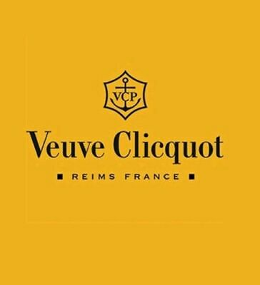 Veuve Clicquot Champagne Yellow Acrylic Flute Party Glasses Accessory New Set x6 6