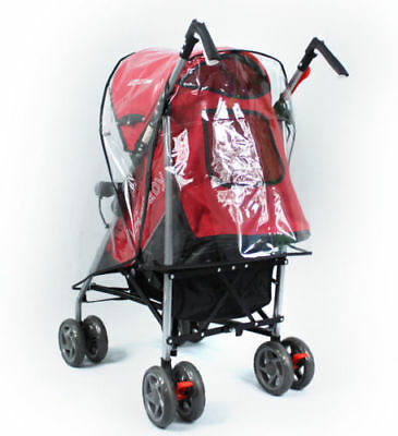 Universal Pushchair Buggy Rain Cover Baby Transparent Stroller Pram Wind Shield 3