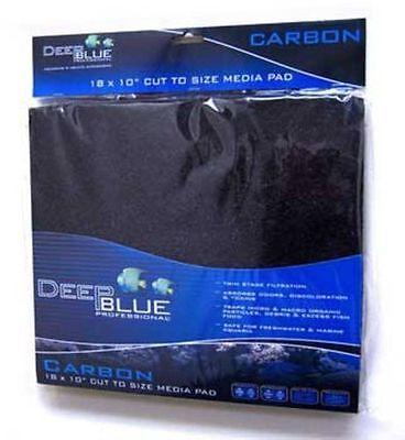 Pet Supplies Usa Deep Blue Bonded Filter Cut To Fit Media Dual Density Pads 24x15 Fish & Aquariums