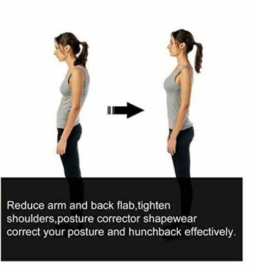 Faja De Compresion Para Mujer Talladora De Brazos y Corrector Postura Sujetador 4