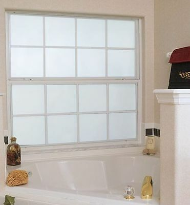 White Frost Privacy Frosted Window Film Matte Opal Etch Tinting Tint Glass Vinyl 2
