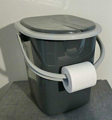 Toilettes Camping Toilette Sèche Portable Seau WC Portatif Voyage 22L BRANQ Neuf 8